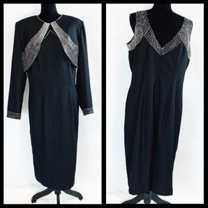 Stunning $430 Plus Size 2-Piece Party Dress